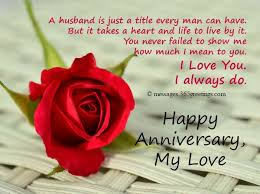 Anniversary Quotes For Husband New Special Wedding Anniversary Quotes For Husband IPunya
