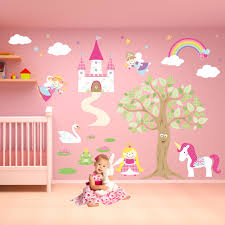 enchanted royal fairy princess nursery wall stickers