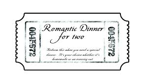 Lunch Ticket Template Interesting Fundraiser Dinner Tickets Template Fundraiser Dinner Ticket Template