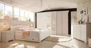Schlafkontor Cinderella Landhaus Schlafzimmer Weiß Kiefer Möbelmeile24