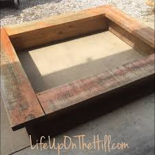 i had found a homemade sandbox frame on a mobile garage site for 10 00 it was heavy but the perfect base that i needed for a lego table