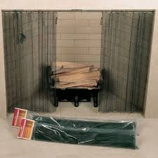 fireplace screens and spark guards sweepmasters professional chimney services