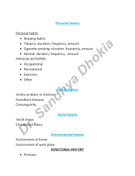 Ortho Assessment For Physiotherapist