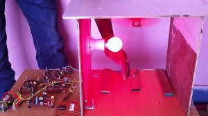 Automatic Room Light Control Using 7 Segment Led