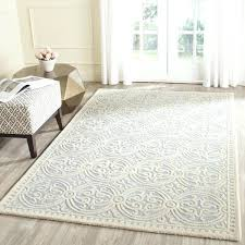 10 x 14 wool rug handmade light blue ivory rug 10 x 14 wool rug