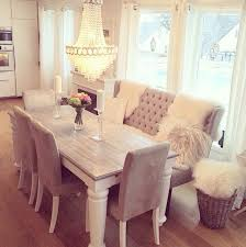 A Great Way To Have The Luxury Or Table Seating With Minimizing Dining Room Table With Bench Seats