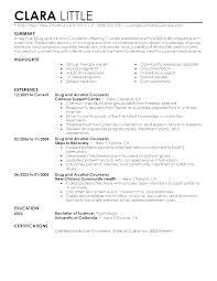 Psychology Sample Resumes Community Psychologist Sample Resume Podarki Co
