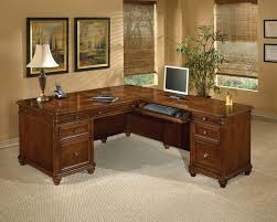 Antigua L-Shape Executive Desk