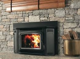 wood burning fireplace inserts with blower used