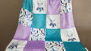 Dream Catcher Baby Bedding Girl Crib Bedding Dreamcatcher Feathers Teal And Purple Crib 26