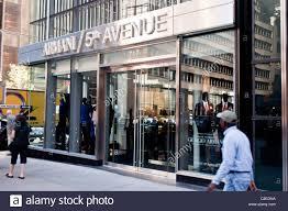 Designer Stores In Manhattan Giorgio Armani Luxury Fashion Designer Store At Fifth Avenue