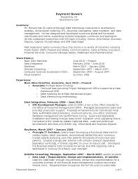 Resume Summary Resume Objective Examples For Warehouse Supervisor United States 69