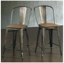 24 inch wooden bar stools black backless