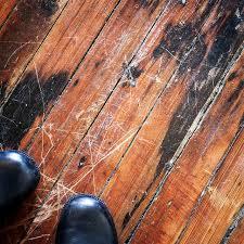 how to repair hardwood floor scratches