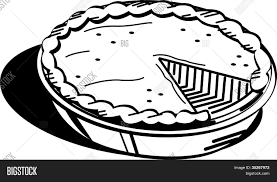 Small Picture Pumpkin Pie Coloring Page Clip Art Stock Vector Stock Photos