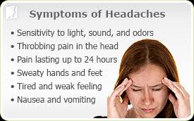 for instance in the case of migraine headaches the pain generally es on slowly on one side of the head builds