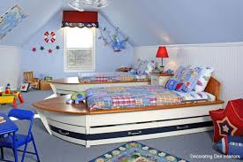 unique kids bedroom furniture. Attractive And Cheerful Wall Color Paint Ideas For Kid\u0027s Rooms : Inspirational Sailor Themed Shared Kids Unique Bedroom Furniture
