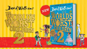 the world s worst children 2 the new book by no 1 bestselling author david walliams is out now fun kids the uk s children s radio station