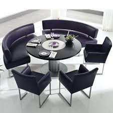 round dining table with bench curved bench for round dining table within design in remodel 6