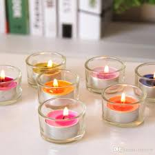tealight candle holder glass plant holders wood
