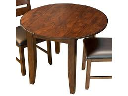 Aamerica Mason Round Drop Leaf Dining Table Conlins Furniture