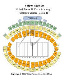 Falcon Stadium Tickets Falcon Stadium Seating Chart