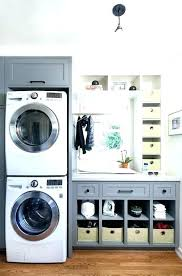 washer dryer closet dimensions cabinet storage stacked he stackable and vent height dimens