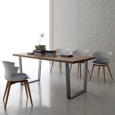 Italian Dining Room Tables Contemporary Design Solid Wood Top Dining Table By Santa Lucia