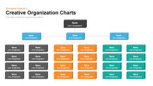 Org Chart Powerpoint Slide Creative Organization Chart Template For Powerpoint And