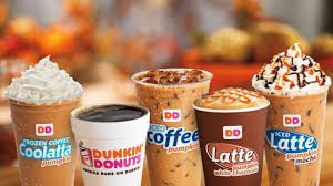 According to a press release, the blueberry crisp latte has blueberry and caramel flavors and is topped with a caramel drizzle and cinnamon sugar. Dunkin Donuts Gluten Free Restaurant Guide Sarah Scoop