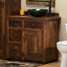 reclaimed barn wood bathroom vanity elegant made from real vanities