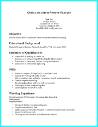 Administrative Clerical Resume Samples | Ophion.co