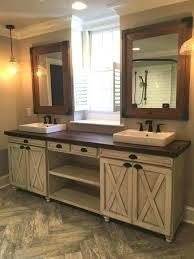 Rustic double bathroom vanity Natural Bathroom Best Country Bathroom Vanities Ideas On For Brilliant Home Rustic Double Vanity Prepare Cabinet Images Brill Canton Antiques Best Country Bathroom Vanities Ideas On For Brilliant Home Rustic