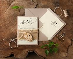 Burlap And Lace Wedding Invitations Wedding Ideas Burlap Wedding Invitations Grandioseparlor Com