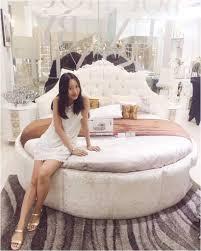 Moderne Runde Betten Wei Luxus Design Lapazca Rundes Bett