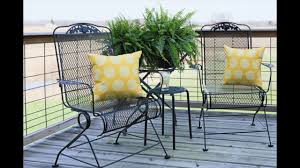 spray painting metal furnitureHow to Prep and Spray Paint a Metal Chair  YouTube