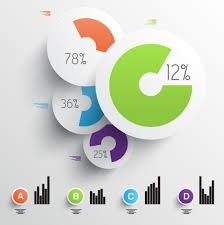 chart graphic design. Color Paper Cutting Information Circular Diagram Vector Graphics Chart Graphic Design G