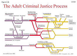 Criminal Justice Process Chart Overview Of The Criminal Justice System
