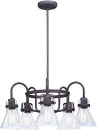 maxim 26117cdoi bui seafarer contemporary oil rubbed bronze chandelier lamp loading zoom