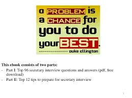 Interview Questions And Answers For Office Assistant Behavioral Interview Questions For Administrative Assistant