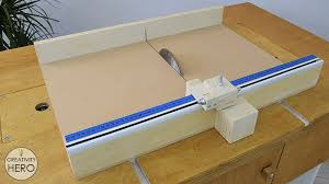 how to make a crosscut sled with flip stop block free plans 39