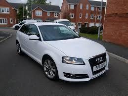 2011 audi a3 1 6 tdi se manual 3 door white facelift low mileage 12 months mot