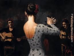 fabian perez tablao flamenco dancer
