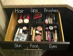 Makeup Organization, Affordable, Easy Way to Organize Your Makeup