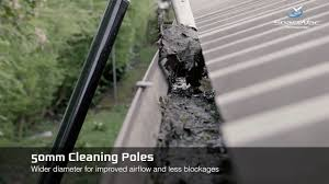 SpaceVac External High-Level Cleaning and Gutter Cleaning System - YouTube