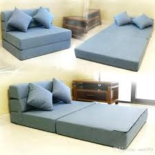 foam foldable mattress fold foam folding mattress and sofa bed for guests with thick mattress and fabric cover colors size sofa chair futon bed sleeper sofa