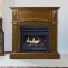 compact heritage vent free fireplace system