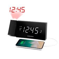 magnasonic alarm clock radio with usb