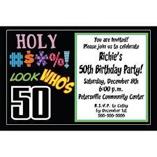 Inspiring 50th Birthday Party Invitation Templates Free