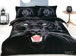 leopard print bedding black panther leopard print bedding comforter set king queen size duvet cover bedspread